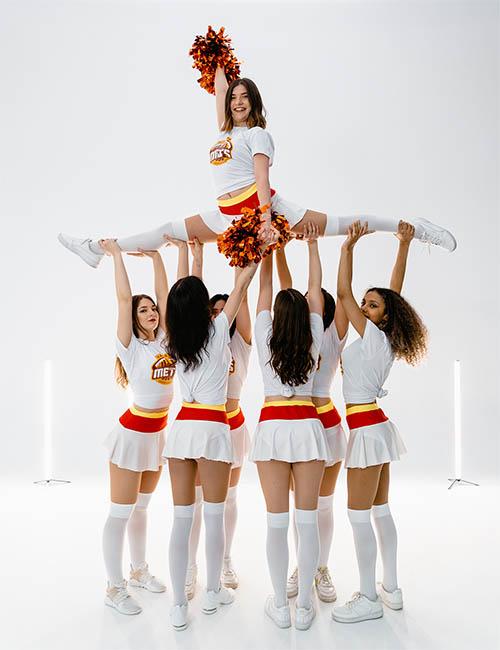 dance oclock cheerleading